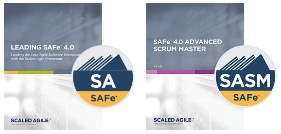 SAFe 4.0 and SASM certifications