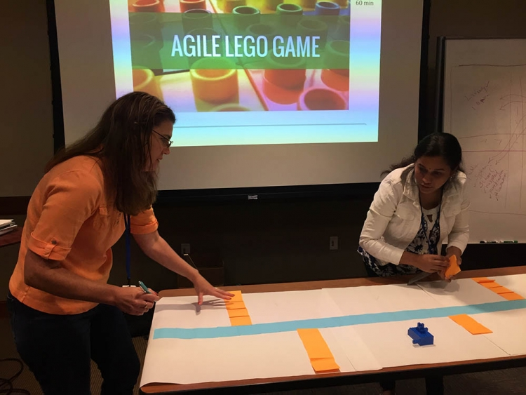 Data Management and Shared Services Agile Lego Training - Articulate Agile