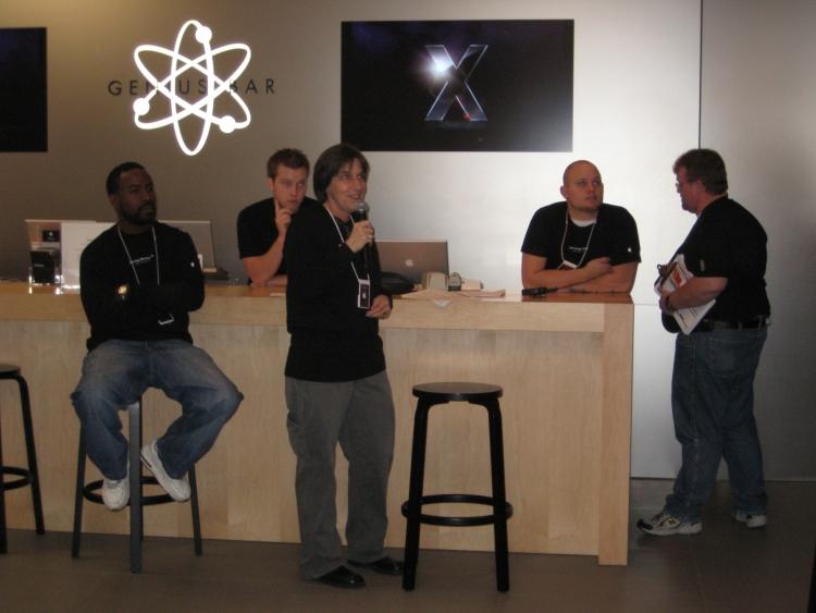Teaching Apple Coworkers